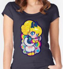 rainbow brite Women's Fitted Scoop T-Shirt
