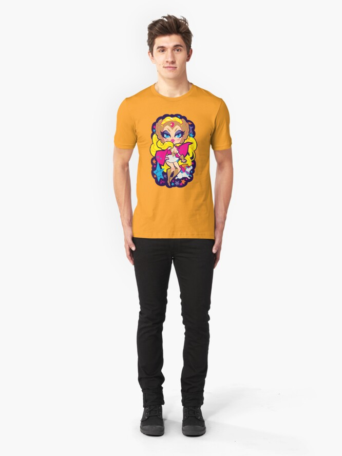 Alternate view of she-ra Slim Fit T-Shirt