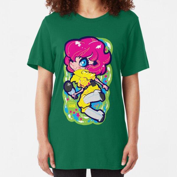 april o'neil Slim Fit T-Shirt