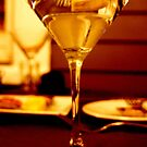 Golden Martini with a Twist by nadinecreates