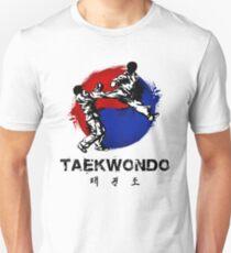 Taekwondo T-shirt unisexe