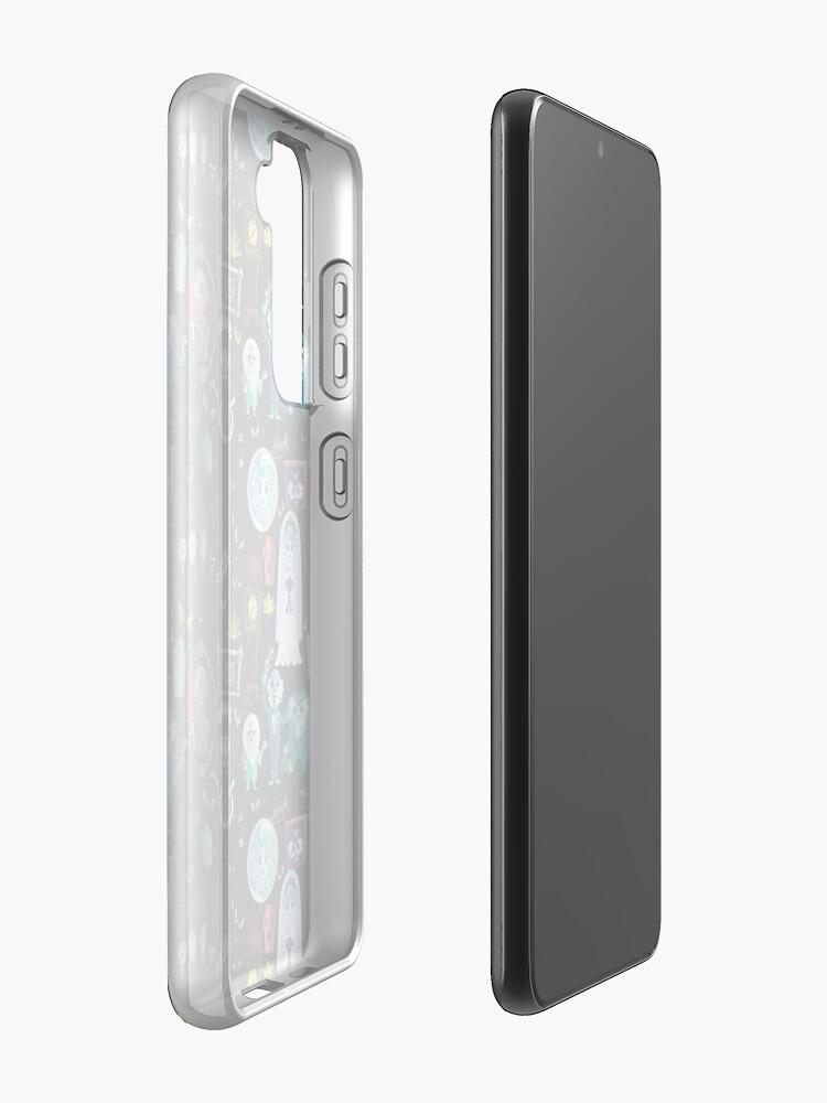 Alternate view of 999 Happy Haunts Case & Skin for Samsung Galaxy