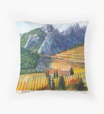 Languedoc Autumn Throw Pillow