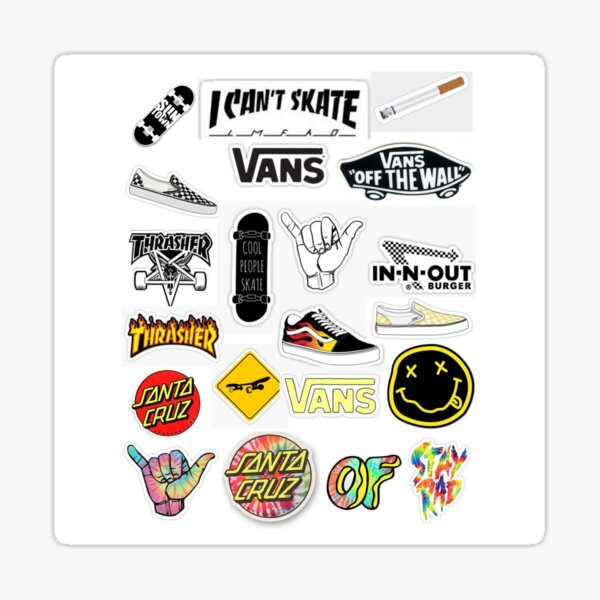 Skater Sticker Pack Sticker