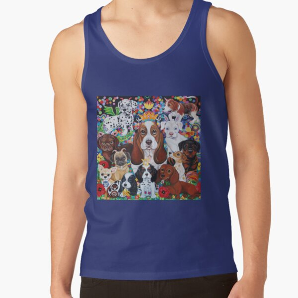Puppy Party Tank Top