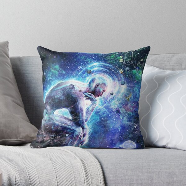 The Mystery Of Ourselves Throw Pillow