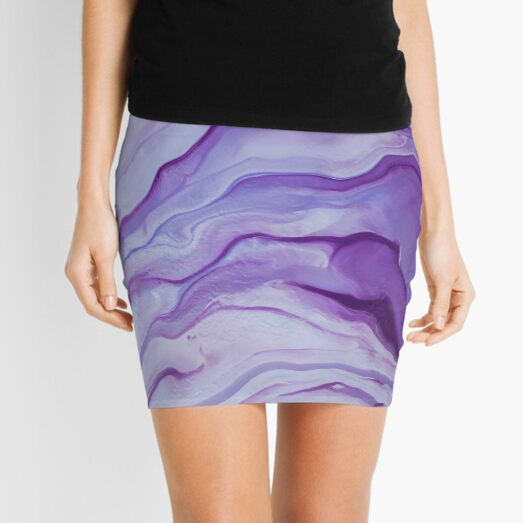 Amethyst Mini Skirt