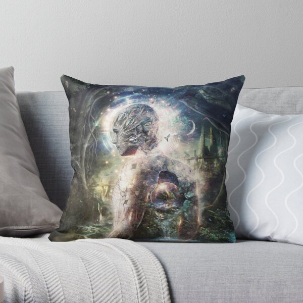 As The Dark Turns To Day Throw Pillow