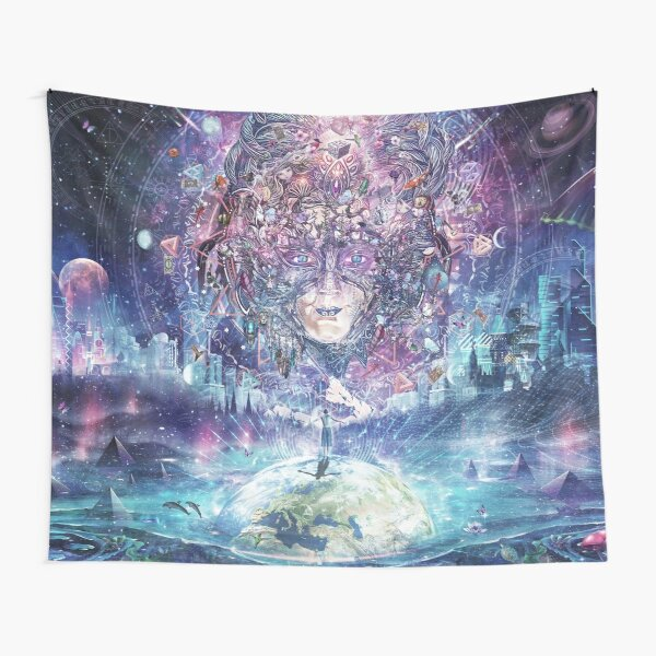 Quest For The Peak Experience Tapestry