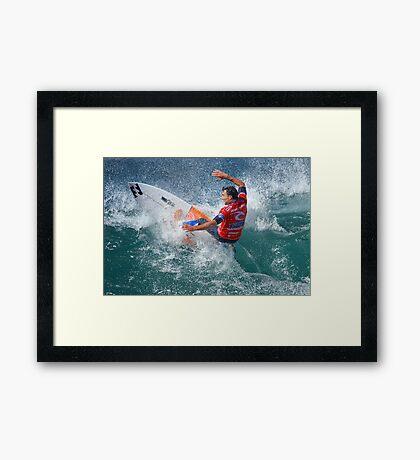 Rip Curl Pro 2012 - Bells Beach - 6 Framed Print