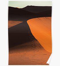 Desert Dune Detail Poster