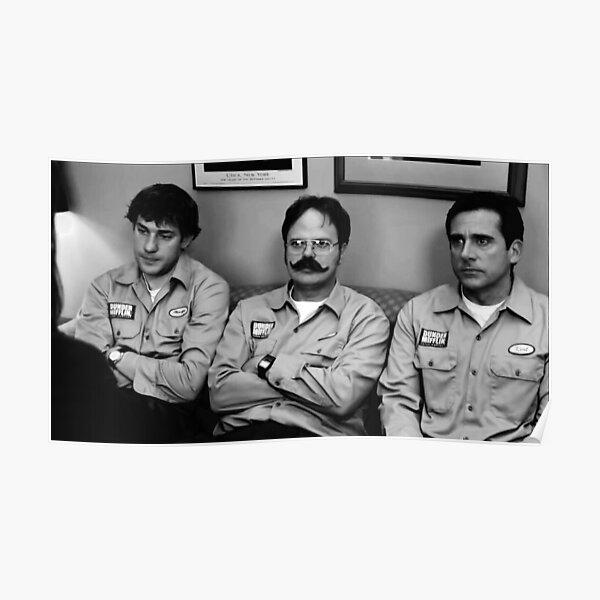 Jim, Dwight and Michael at Utica Poster