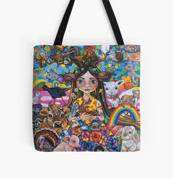 The Protector All Over Print Tote Bag