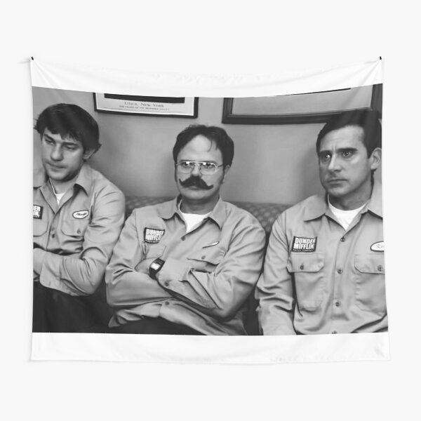 Jim, Dwight and Michael at Utica Tapestry