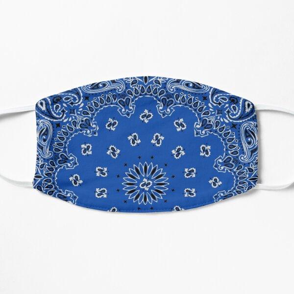 Style bandana classique (version BLEUE) Masque sans plis