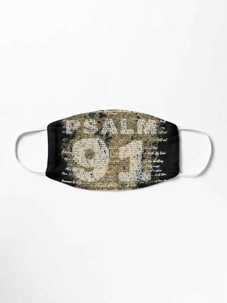 Alternate view of Psalm 91 Mask