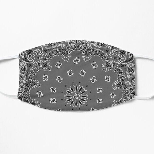 Style bandana classique (version GRISE) Masque sans plis