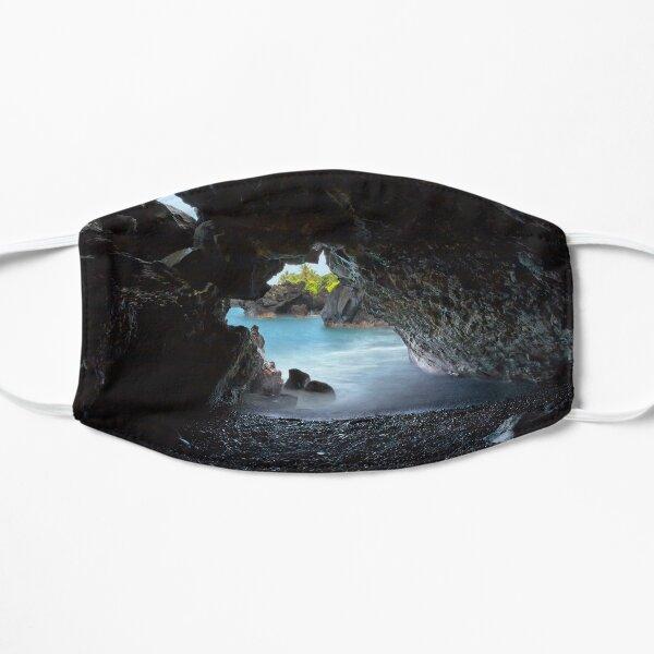 Peeking Through the Lava Tube Mask