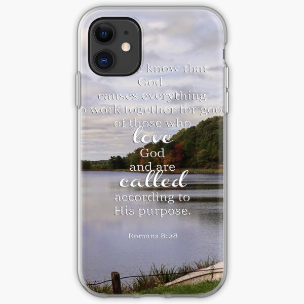 Romans 8:28 iPhone Soft Case