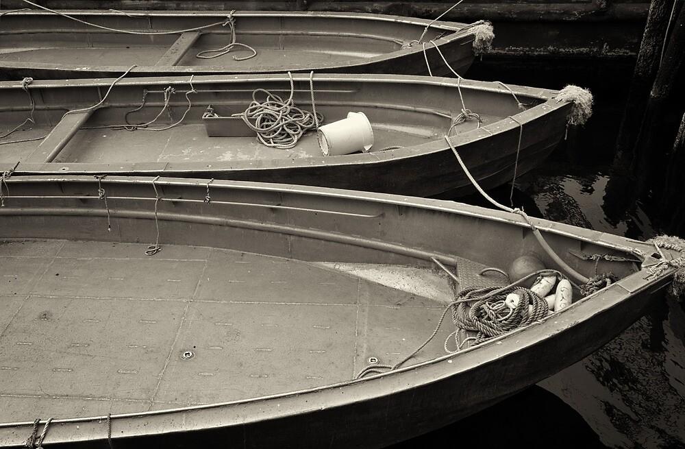 Just Boats  by John  Kapusta