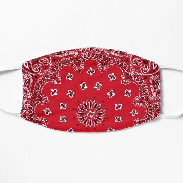 Style bandana classique (version ROUGE) Masque sans plis