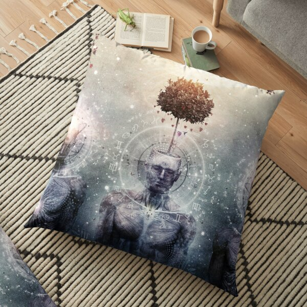 Hope For The Sound Awakening Floor Pillow