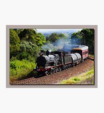 Steam Train Taree nsw Photographic Print