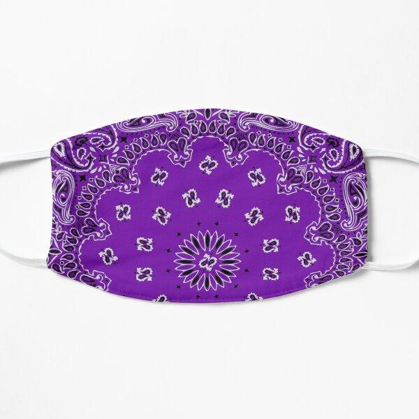 Style bandana classique (version VIOLET) Masque sans plis