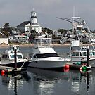 Provincetown from Fishermans Wharf by John Gaffen