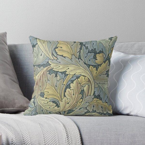 William Morris Acanthus Leaves Throw Pillow