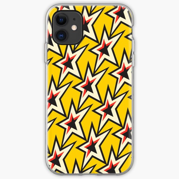 superstar-pop-yellow iPhone Soft Case