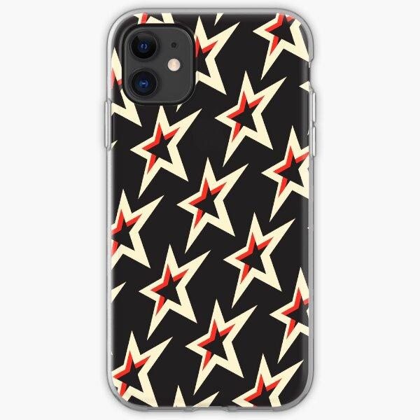 superstar-hotrod-redblack iPhone Soft Case