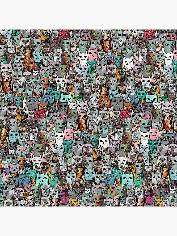 Gemstone Cats - Emerald by notsniwart