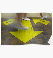 Commuter Dance Steps Poster