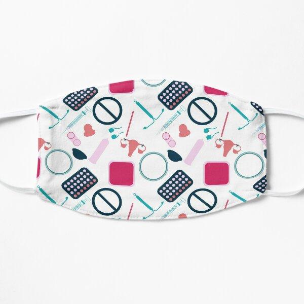 Contraception Pattern (Version 2) Flat Mask