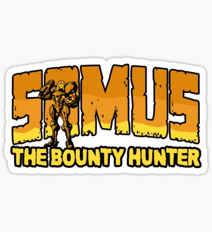 Samus the Bounty Hunter Sticker