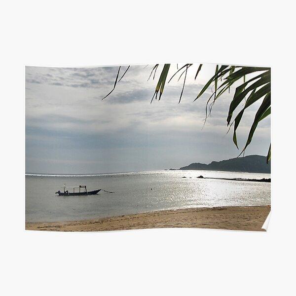 Kuta Lombok Beach Poster