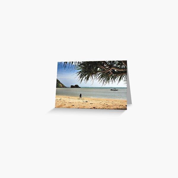Kuta (lombok) Beach 2 Greeting Card