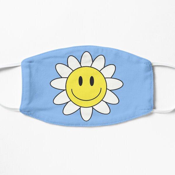 smiley flower Flat Mask