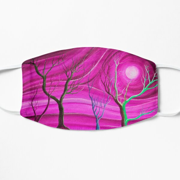 Trees on pink planet Mask