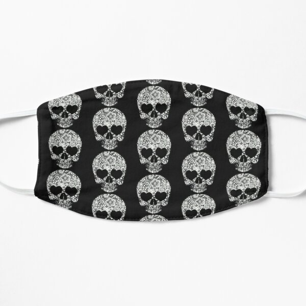 Lace Skull Flat Mask