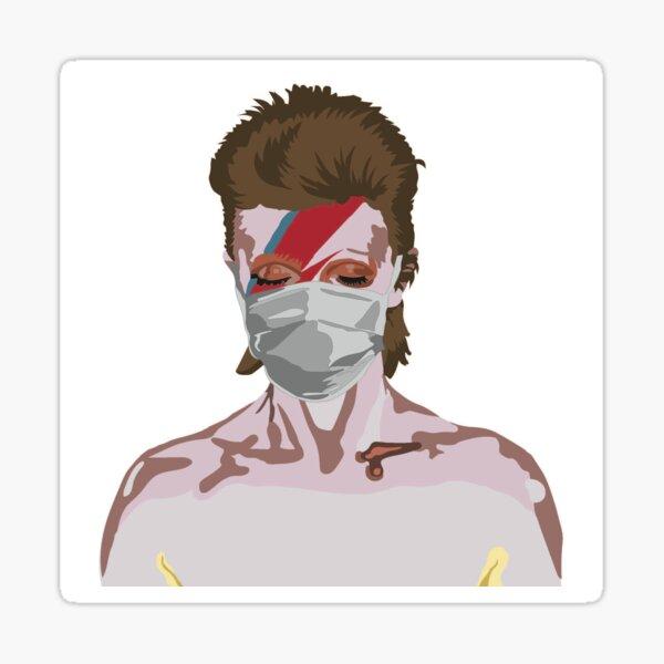 David Bowie - Corona Virus  Sticker
