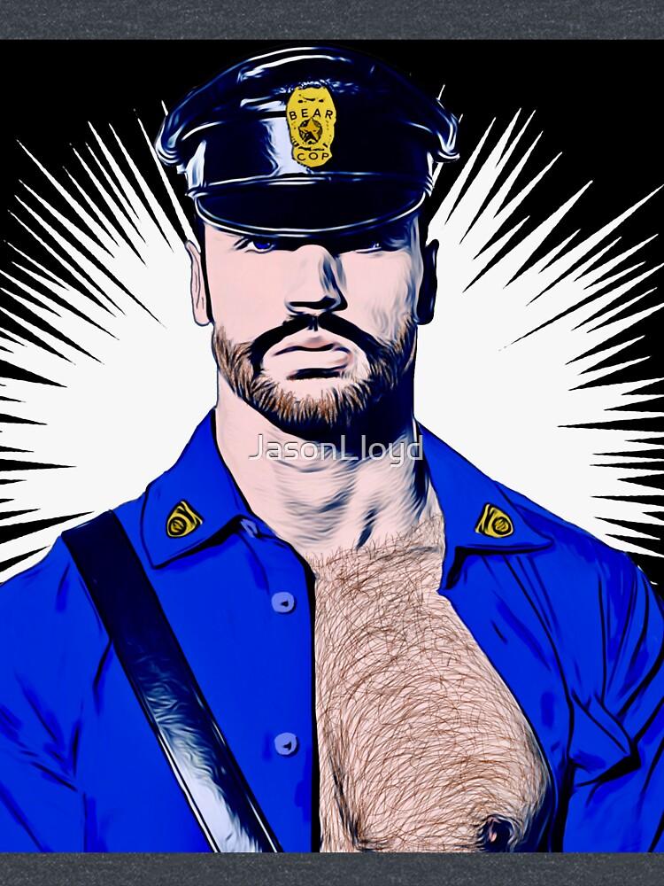 Bear Cop by JasonLloyd