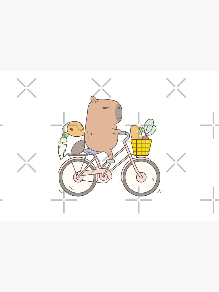 Bubu the Guinea Pig, Biking  by Miri-Noristudio