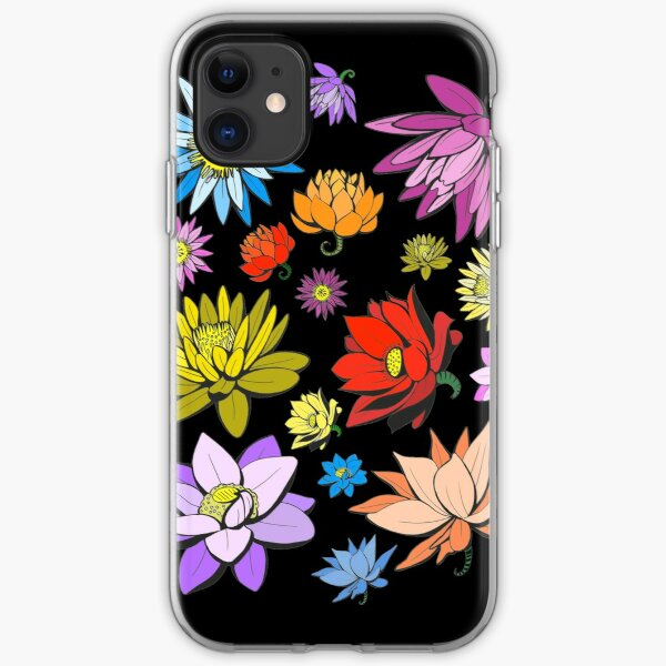 Lotus Flowers  iPhone Soft Case