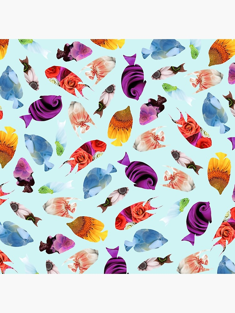 Fish shaped Flowers by notsniwart