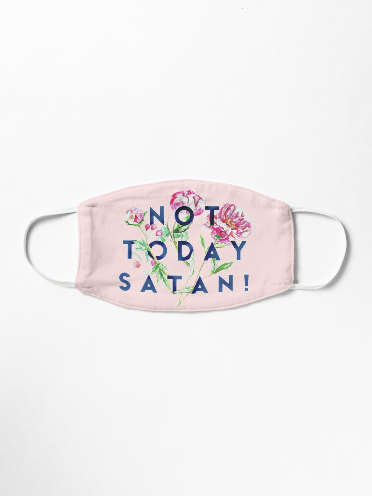 Alternate view of Not Today Satan  Mask