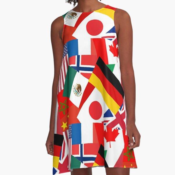 World Showcase A-Line Dress