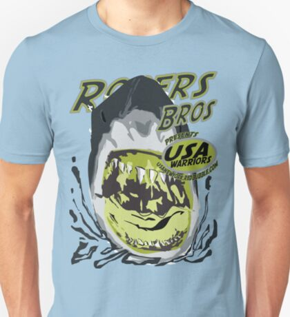 shark usa warriors by rogers bros T-Shirt