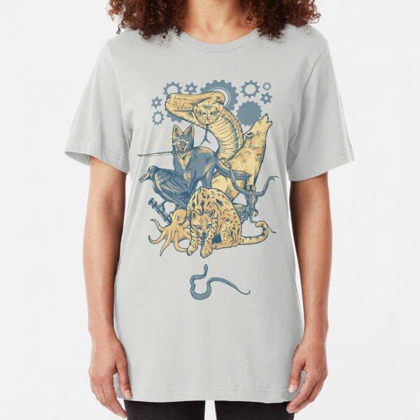 Shadow Moses  Slim Fit T-Shirt